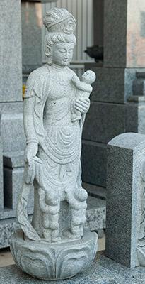 お墓を守る石像づくり